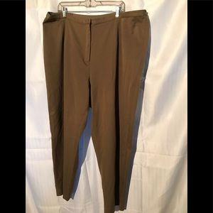 Brown Talbots Women's pants 24W